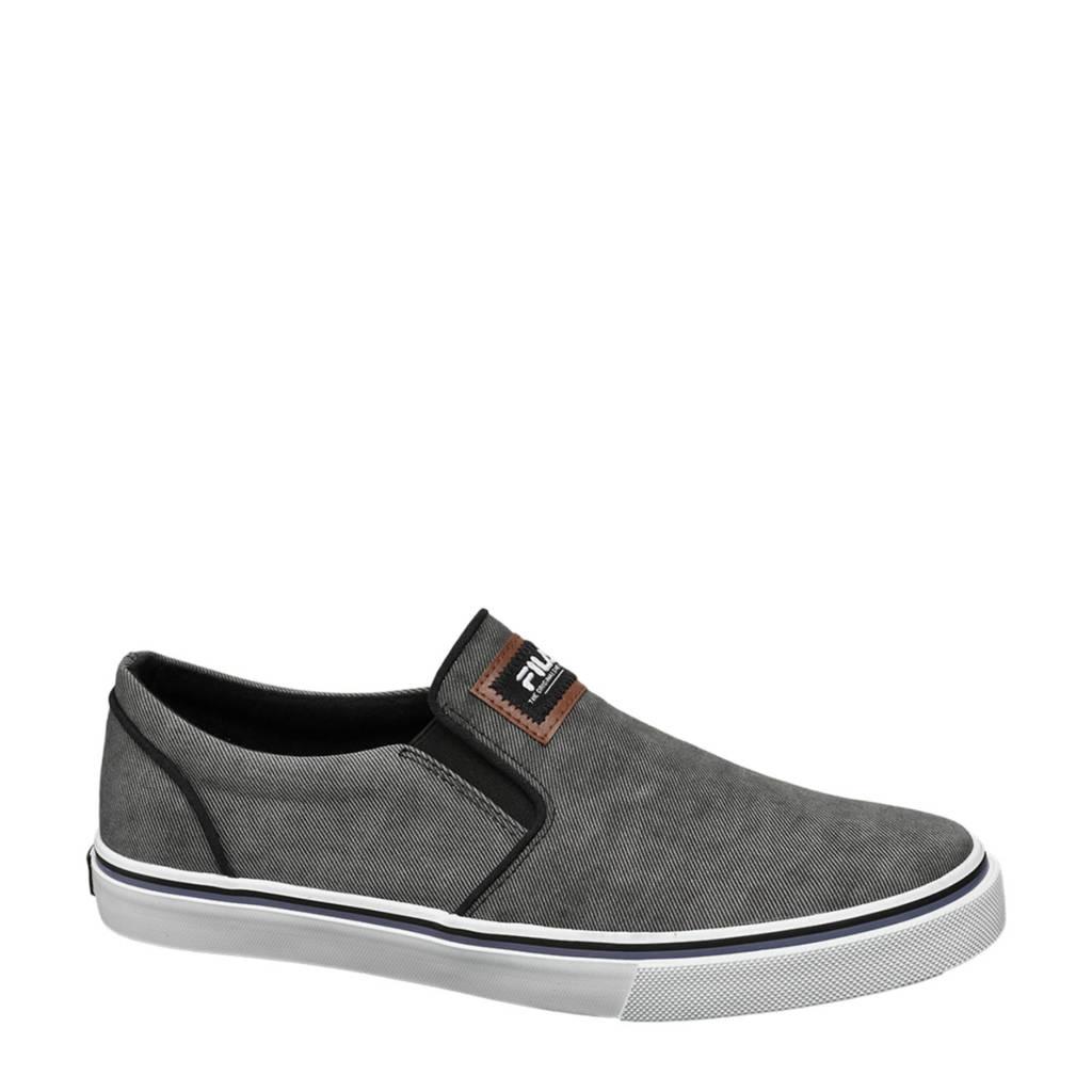 Fila   slip on sneakers grijs, Grijs