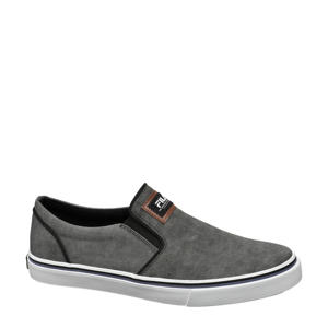 slip on sneakers grijs