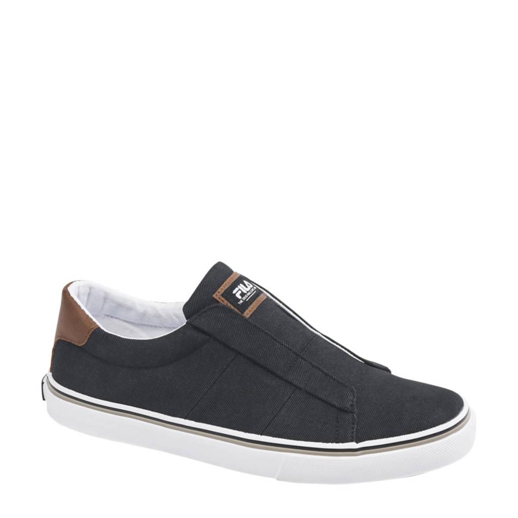 Fila   slip on sneakers zwart, Zwart