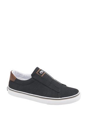 slip on sneakers zwart