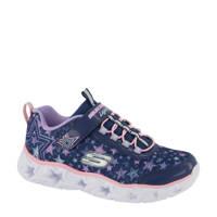 Skechers   sneakers met lichtjes blauw, Blauw