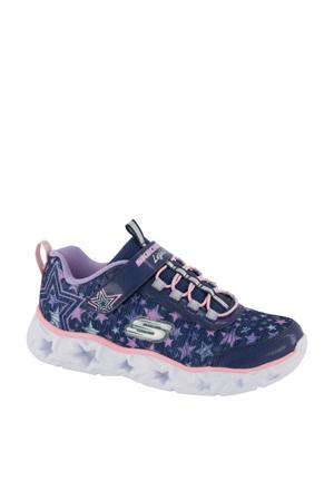 sneakers met lichtjes blauw