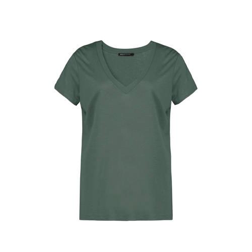 Expresso T-shirt donkergroen