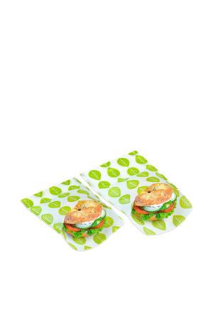 zakje Sandwich & Snack Vegan (set van 2)
