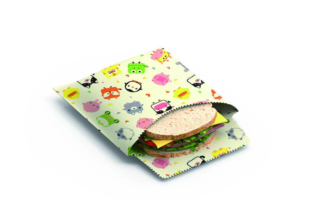Bee's Wax zakje Sandwich & SnackKids (set van 2), Divers