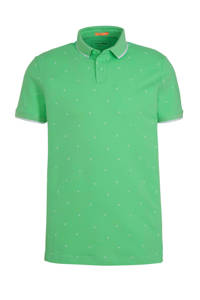 Tom Tailor slim fit polo groen, Groen