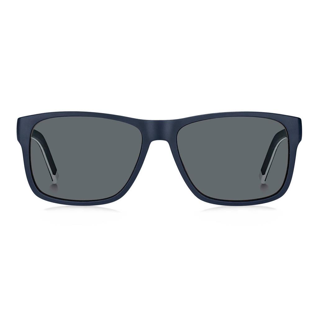 Tommy Hilfiger zonnebril TH 1718/S blauw, Blauw/wit