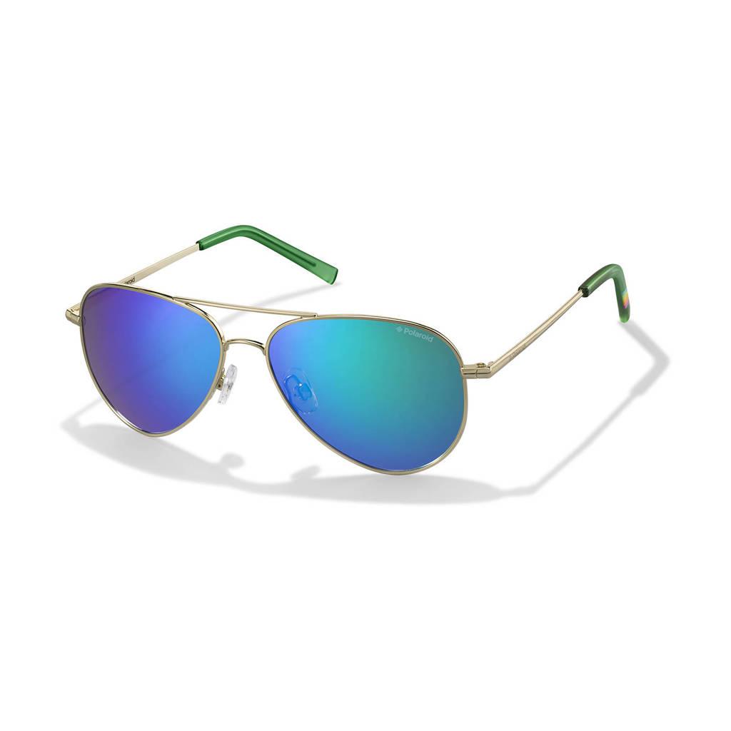 Polaroid zonnebril PLD 6012/N goud, Goud