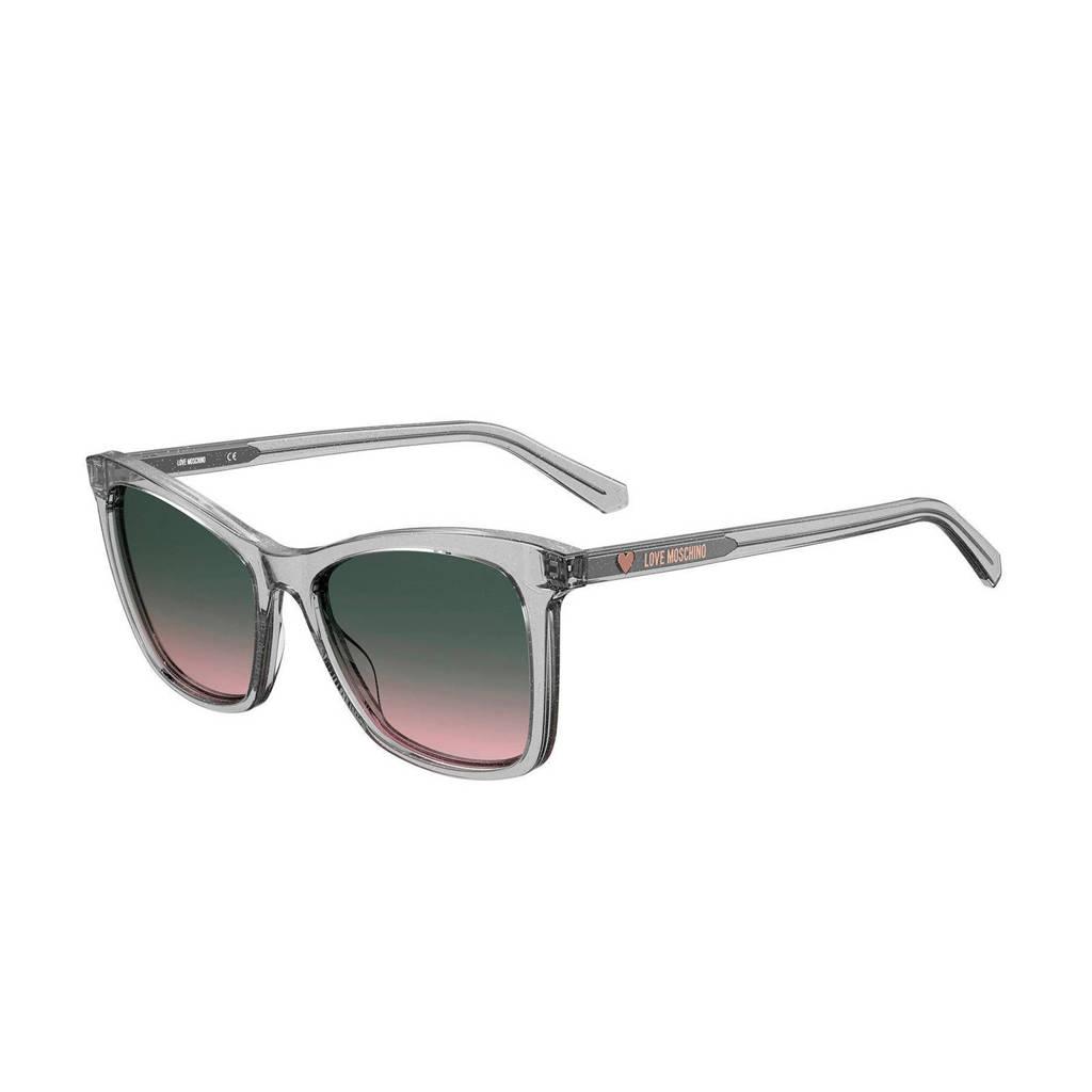 Love Moschino zonnebril MOL020/S grijs