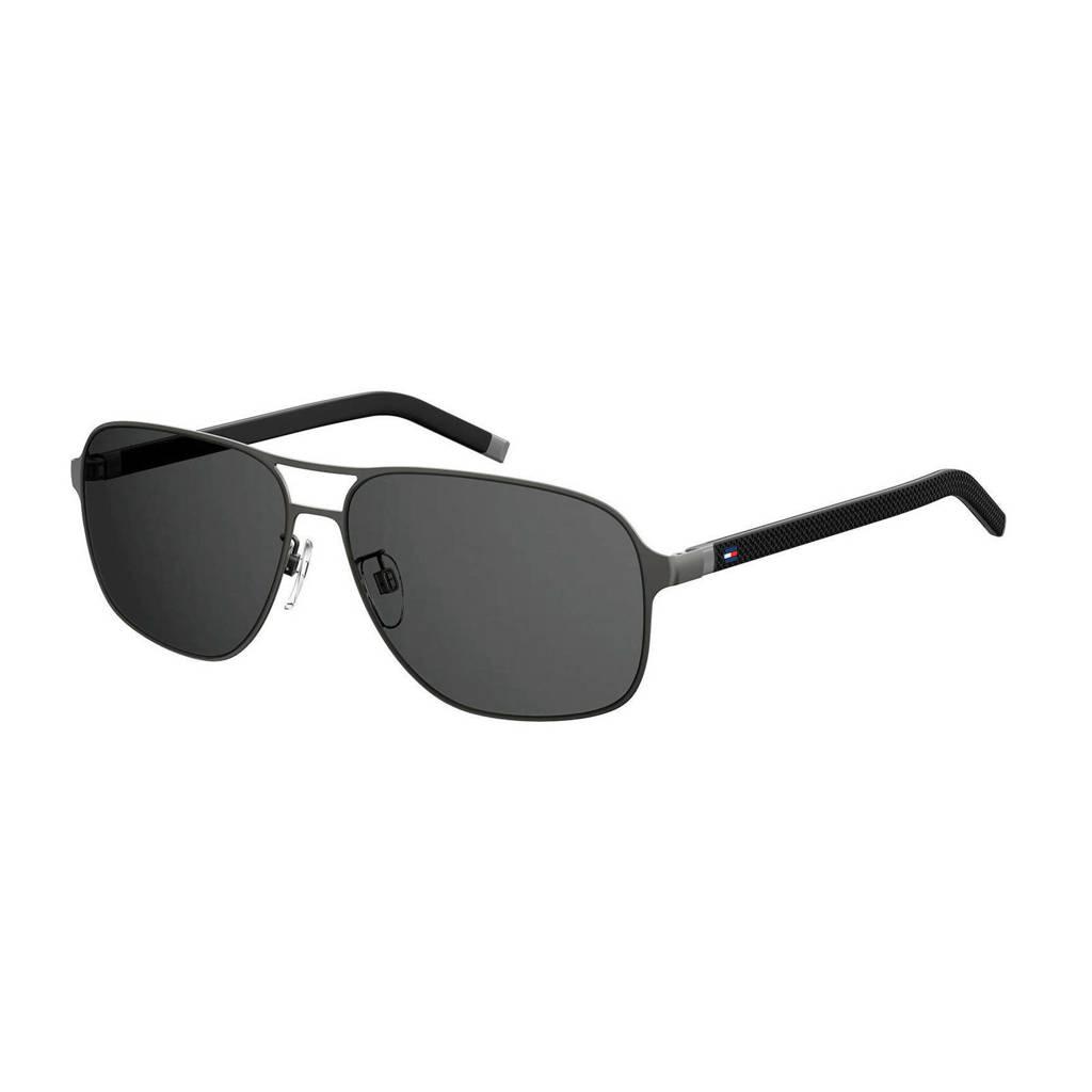 Tommy Hilfiger zonnebril TH 1719/F/S zwart, Zwart