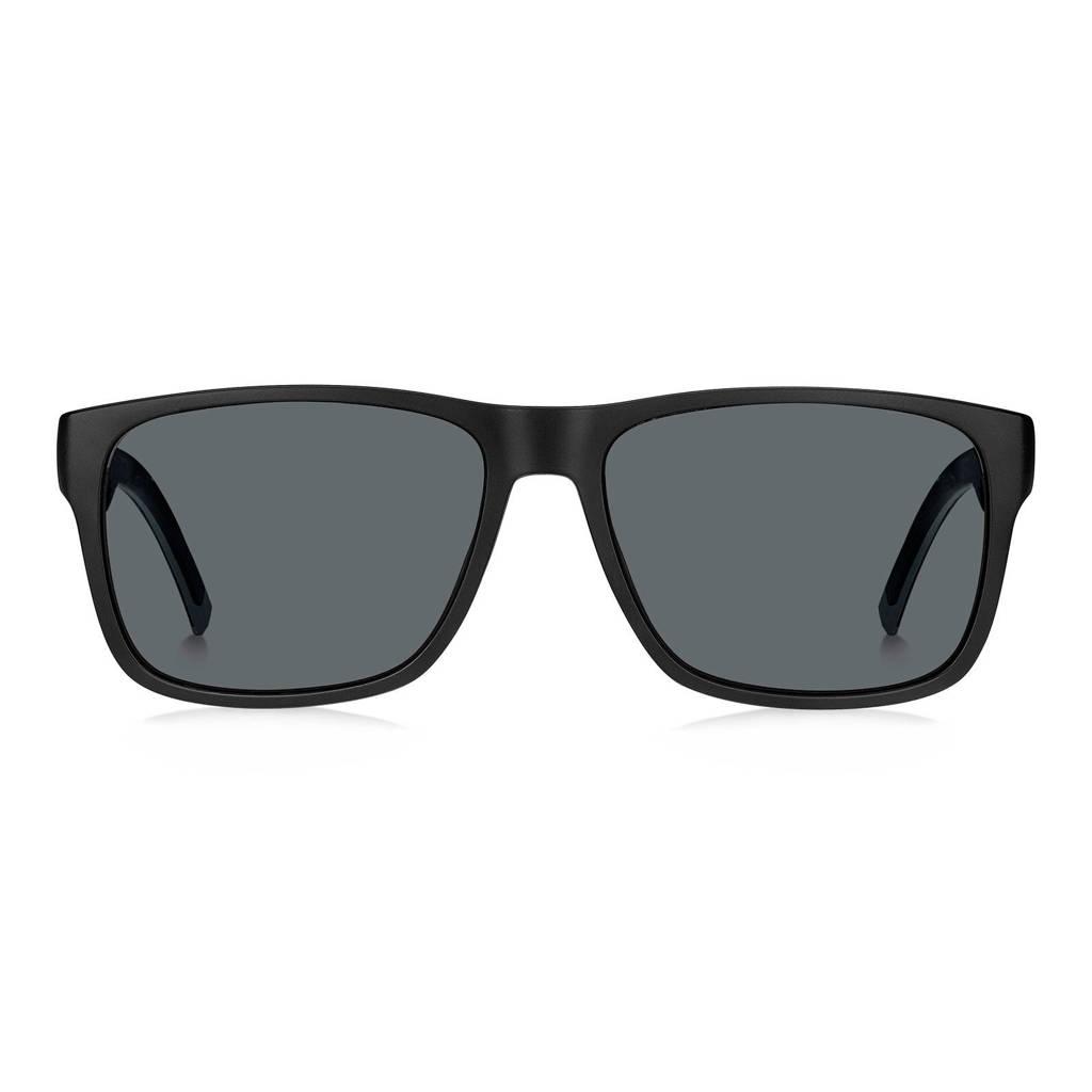 Tommy Hilfiger zonnebril TH 1718/S zwart, Zwart/grijs