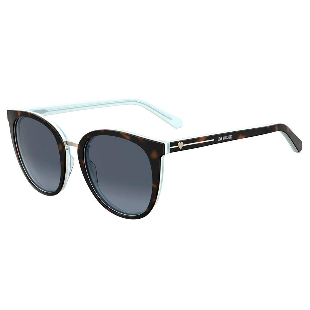 Love Moschino zonnebril MOL016/S bruin