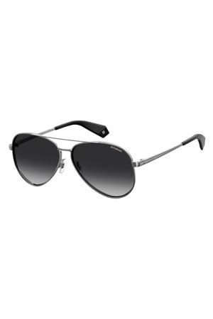 zonnebril PLD 6069/S/X zilver/zwart
