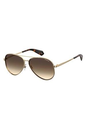 zonnebril PLD 6069/S/X goud/bruin