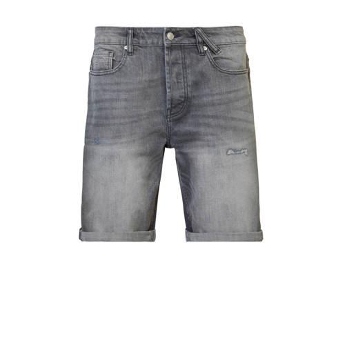 America Today regular fit jeans short grey denim