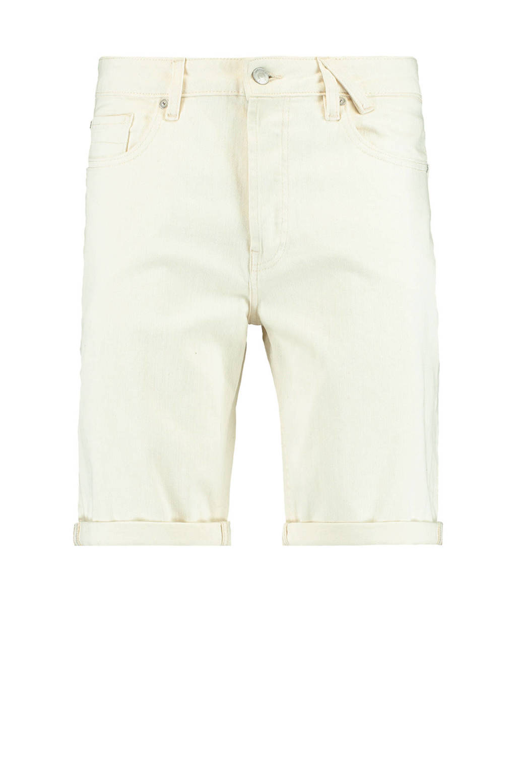America Today regular fit jeans short off white, Off White
