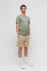 ARMEDANGELS T-shirt van biologisch katoen grijsgroen, Grijsgroen