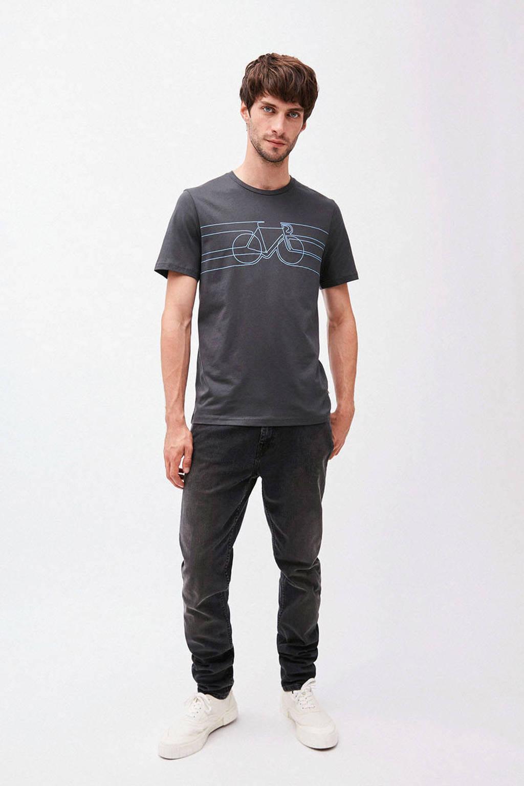 ARMEDANGELS T-shirt van biologisch katoen antraciet, Antraciet