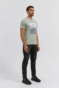 ARMEDANGELS T-shirt van biologisch katoen lichtgroen, Lichtgroen