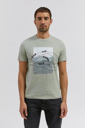 T-shirt van biologisch katoen lichtgroen