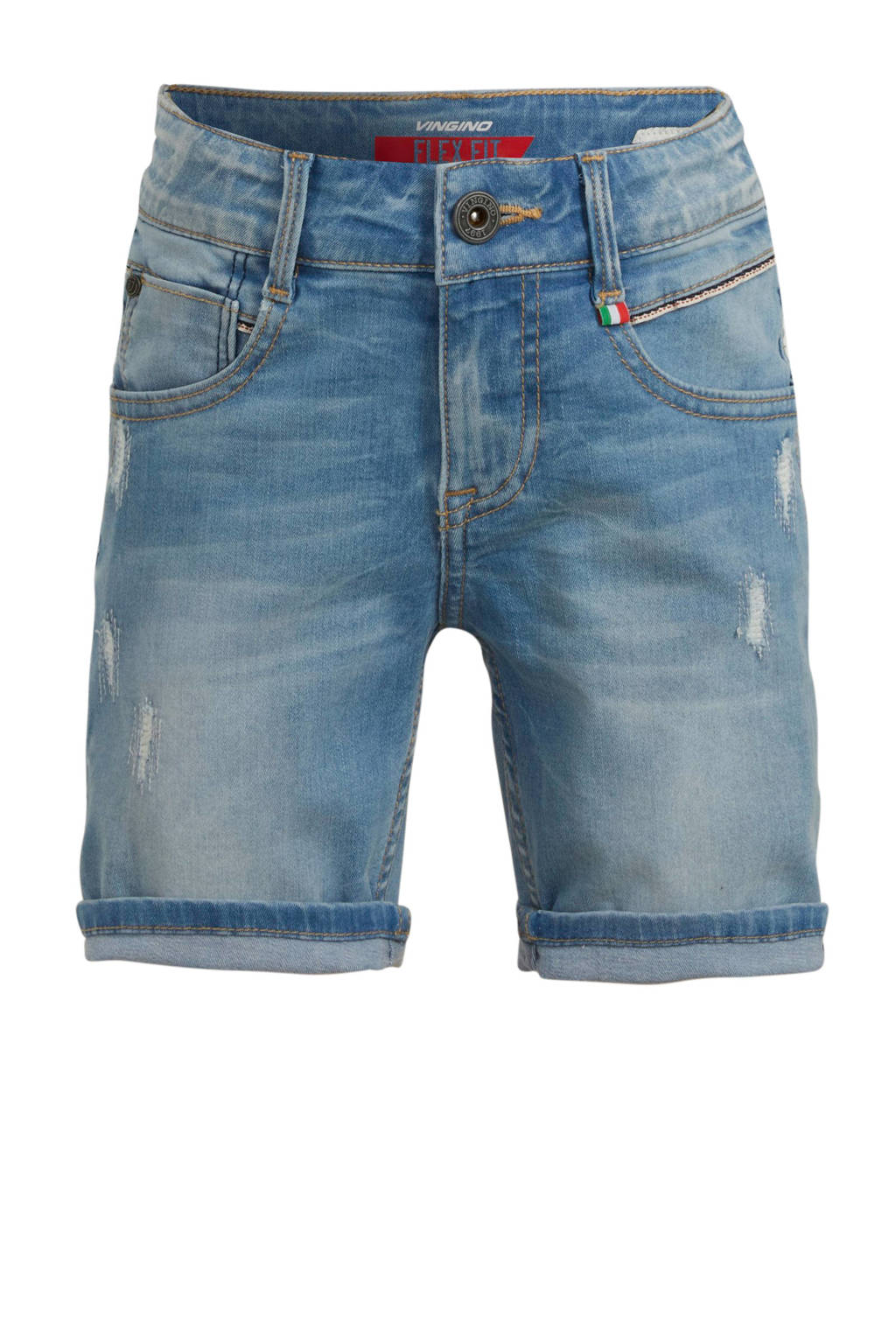 Vingino jeans bermuda Caluigi light vintage, Light vintage