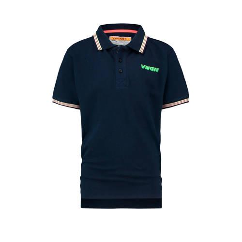 Vingino polo Kameron met logo donkerblauw