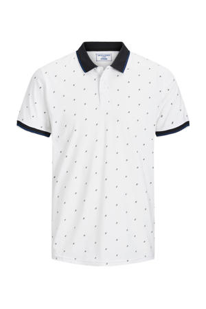 regular fit polo Carlo met all over print wit