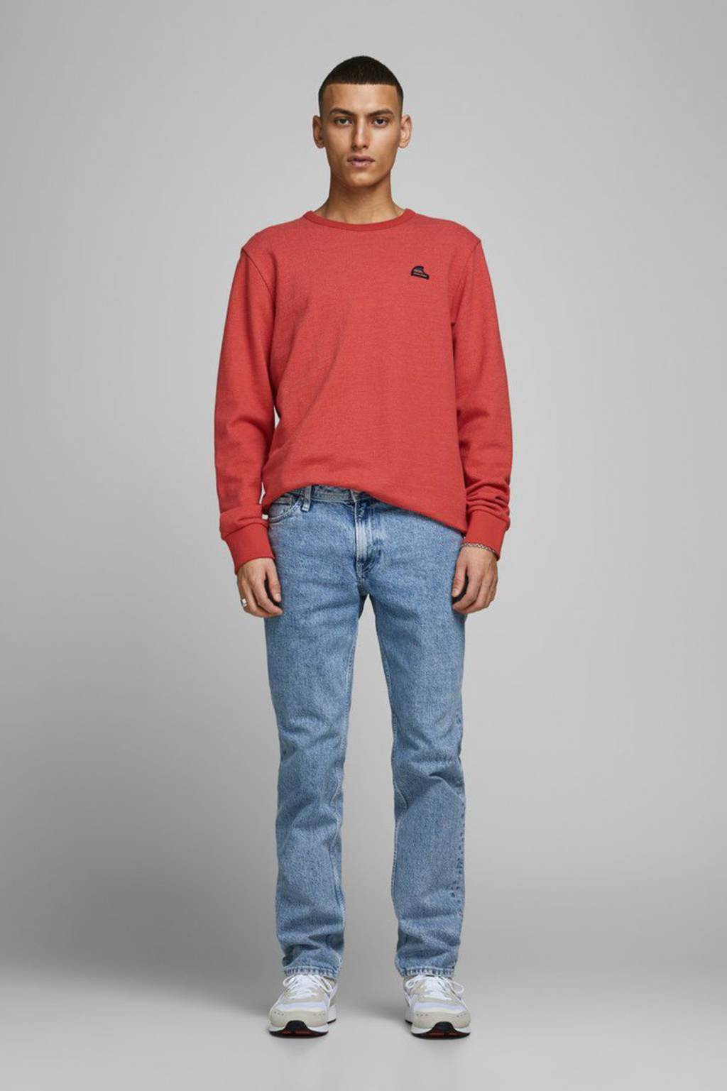 JACK & JONES ORIGINALS sweater oranje, Oranje