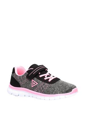 sportschoenen grijz/roze
