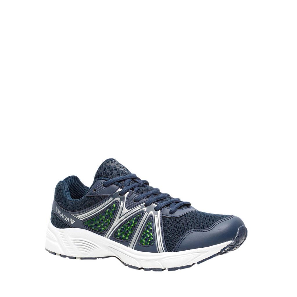 Scapino Osaga Pro   hardloopschoenen blauw, Blauw/zilver