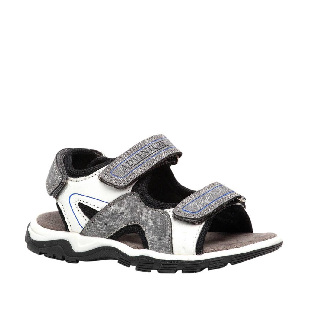 Scapino Blue Box   sandalen grijs/wit, Grijs/wit