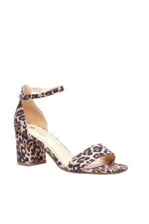 sandalettes panterprint
