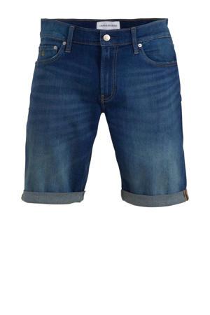 slim fit jeans short mid blue