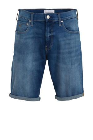 regular fit jeans short bright mid blue