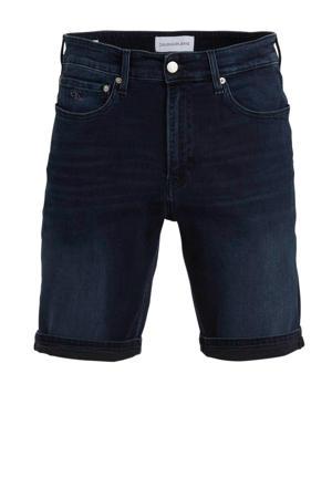 slim fit jeans short blue black