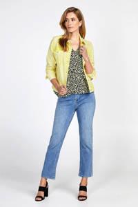 Miss Etam Regulier spijkerjasje geel, Geel