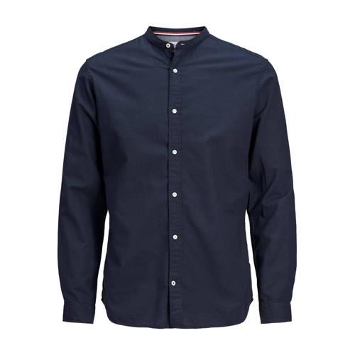JACK & JONES ESSENTIALS slim fit overhemd donk