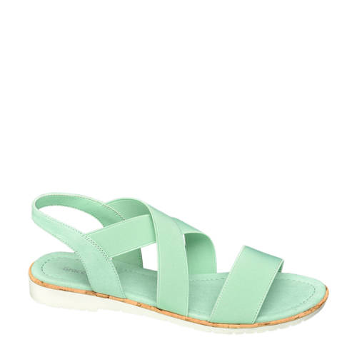 Graceland sandalen mintgroen