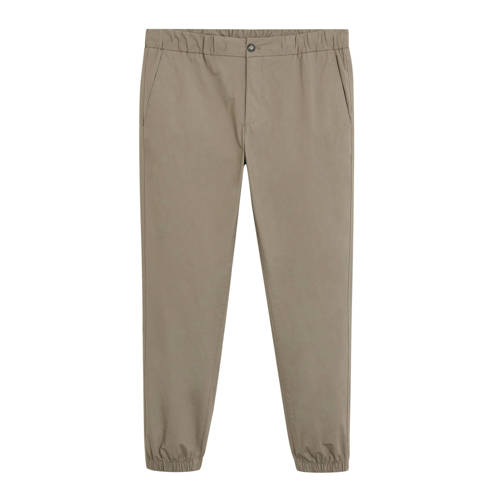 Mango Man slim fit pantalon lichtbeige