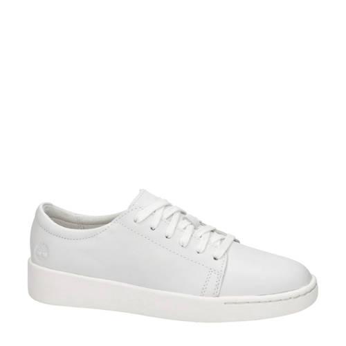 Timberland Teya Oxford leren sneakers wit