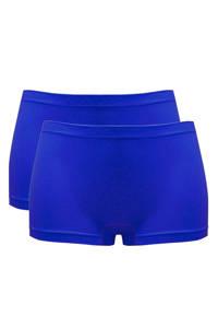 MAGIC Bodyfashion short Comfort Boyshort (set van 2) blauw, Blauw