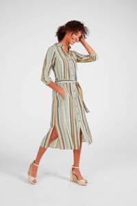 Expresso blousejurk Carola met all over print en ceintuur multi, Multi
