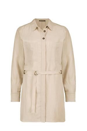 blouse Colette met linnen zand