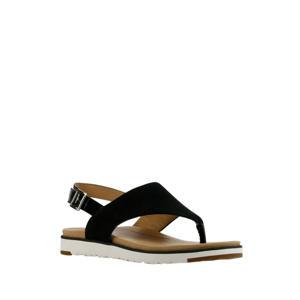 Alessia  suède sandalen zwart