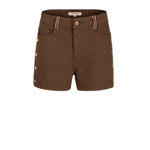 Morgan high waist slim fit short bruin