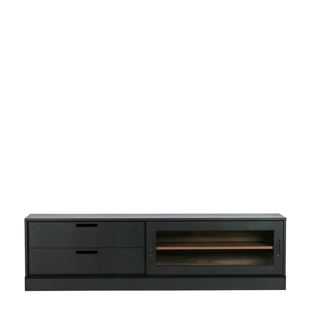 WOOOD Exclusive tv-meubel James, Zwart