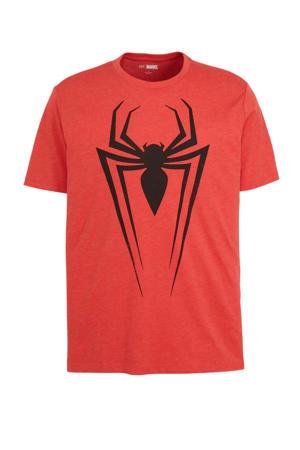 T-shirt met printopdruk rood