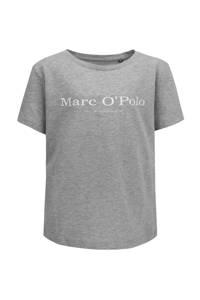Marc O'Polo T-shirt met logo grijs, Grijs