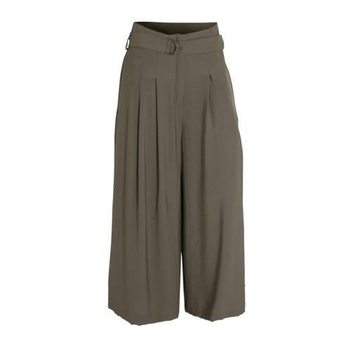 C&A high waist culotte olijfgroen