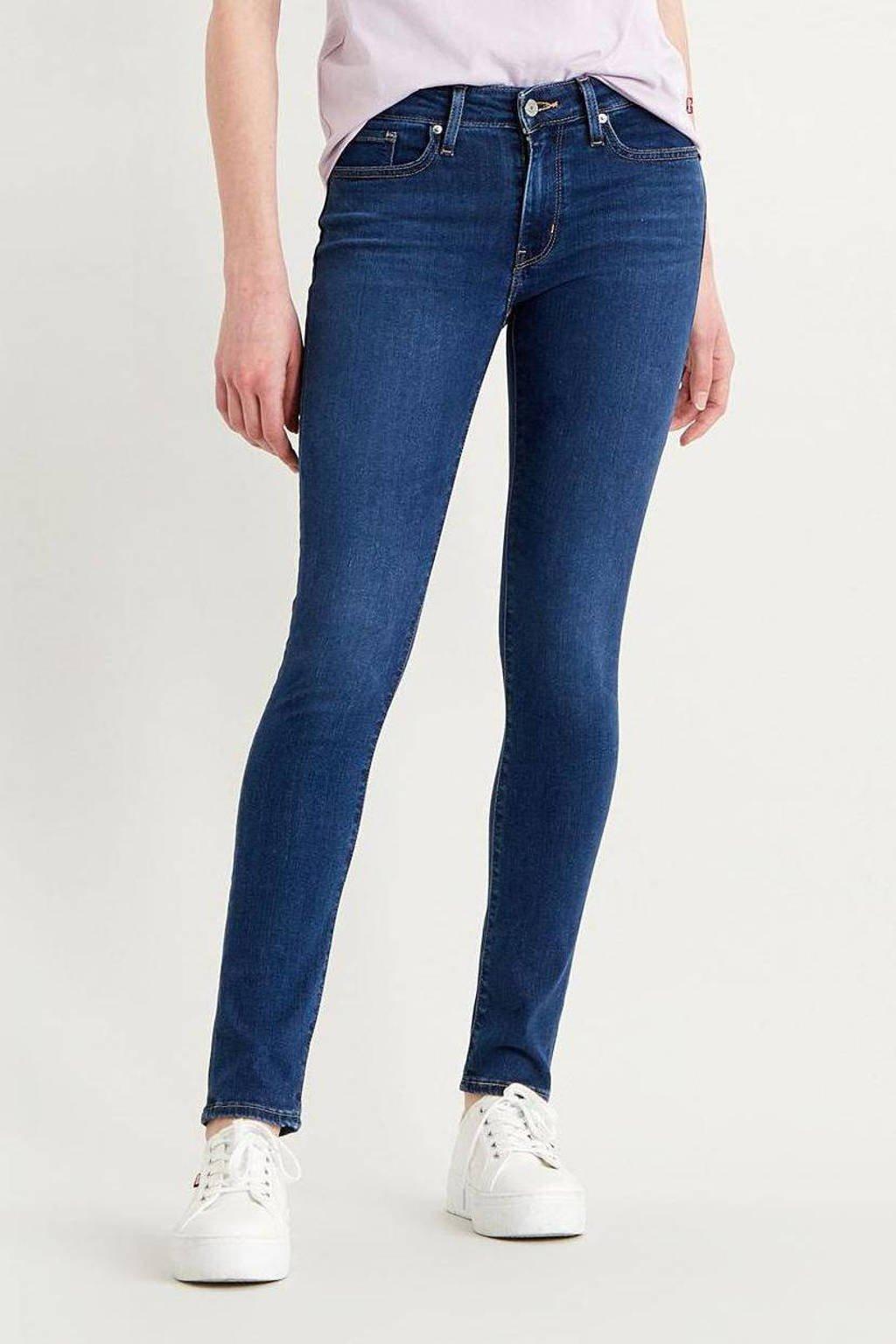 Levi's 711 skinny jeans dark denim, Dark denim